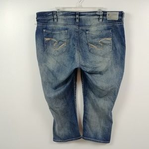 Silver Jeans Womens Suki Jeans Super Stretch 22